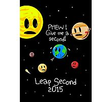 Leap Second 2015 Photographic Print