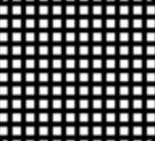 UNIT Retro Black Small Logo Sticker