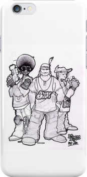 iPhone Case - Da Boys by Jan Szymczuk