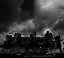 Conwy Castle by Coyroy