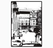 Newcastle Street Scene by DaveScoffin
