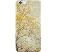 Leaves of Gold Glitter in Autumn Sunlight iPhone Case/Skin