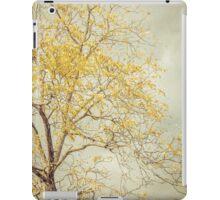 Leaves of Gold Glitter in Autumn Sunlight iPad Case/Skin