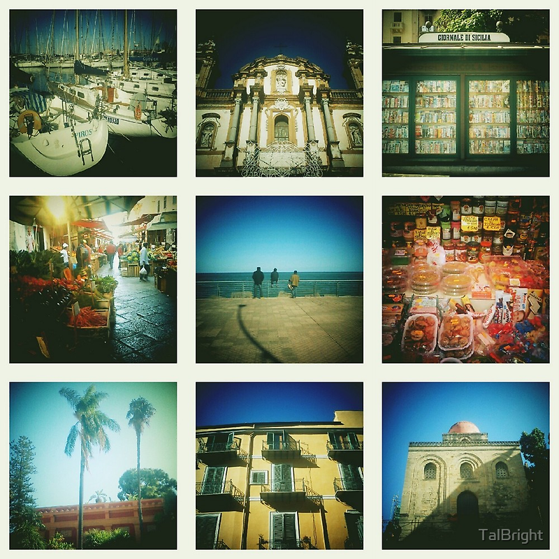 Postcards from Palermo by TalBright
