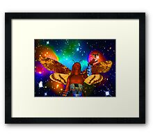 Star Moth Framed Print
