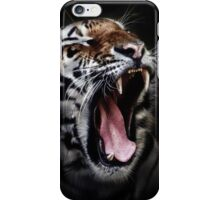 Tiger black iPhone Case/Skin