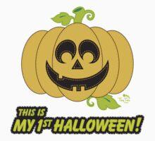 My 1st Halloween Jack O' Lantern Kids Clothes