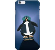 Penguin With Snowboots iPhone Case iPhone Case/Skin