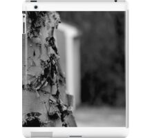 Black and white birch iPad Case/Skin