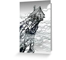 The Strange High House In The Mist Greeting Card