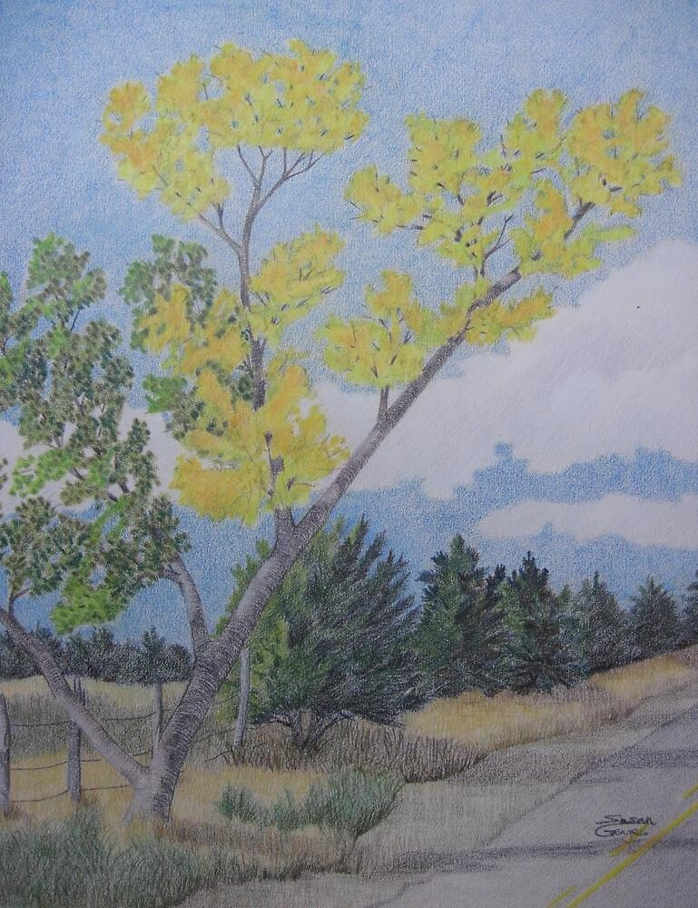 First Touch of Autumn by Susan Genge