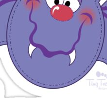 My 1st Halloween Purple Bat Sticker