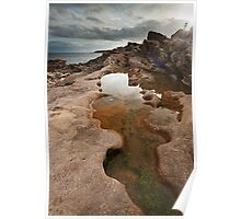 Tarbut Ness Rockpool Poster