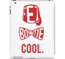Fez. Bowtie. Cool. iPad Case/Skin