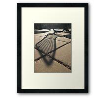 Lengthened Repose Framed Print