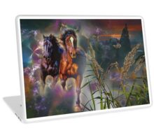 Two horses  Laptop Skin