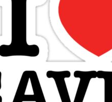 I Love LEAVEN Sticker