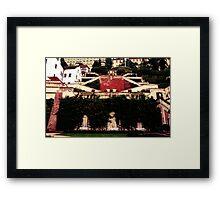 Big Garden Framed Print