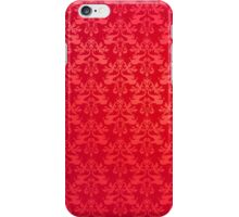 Red elephant damask i phone 4 case iPhone Case/Skin