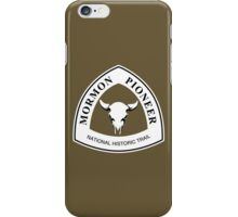 Mormon Pioneer Trail Sign iPhone Case/Skin