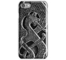 Details from the Oseberg ship iPhone Case/Skin