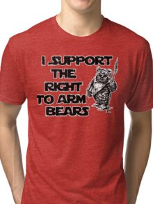 I Support the Right to Arm Bears Tri-blend T-Shirt