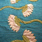 White Lotus Blue Quilt Finished! by Donna Huntriss