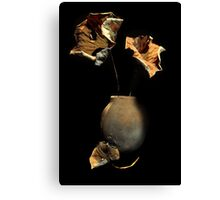 Savoring the End of the Lotus Season Canvas Print