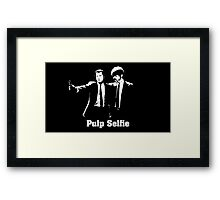 Pulp Selfie Framed Print