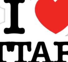 I Love ATTARD Sticker