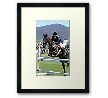 This is how it is done - Royal Hobart Show 2011 Framed Print
