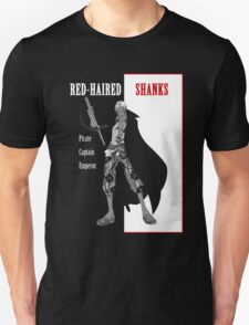 One Piece : Red-Haired Shanks T-Shirt