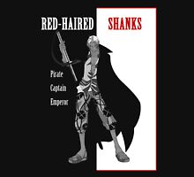 One Piece : Red-Haired Shanks (scarface parody) Unisex T-Shirt