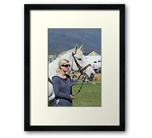 Relaxed and picture perfect - Royal Hobart Show 2011 Framed Print