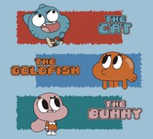 The Cat, The Goldfish and the Bunny Baby Tee