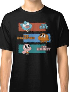 The Cat, The Goldfish and the Bunny Classic T-Shirt