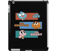 The Cat, The Goldfish and the Bunny iPad Case/Skin