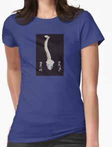 Spine Walk Womens Fitted T-Shirt
