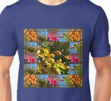 Reflections of Autumn Collage Unisex T-Shirt