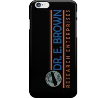 Doc Brown Research iPhone Case/Skin