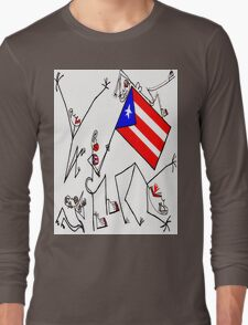 Esa Bandera! Long Sleeve T-Shirt