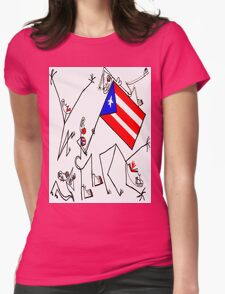 Esa Bandera! Womens Fitted T-Shirt