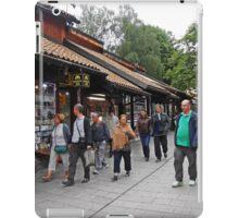 Sarajevo shops iPad Case/Skin