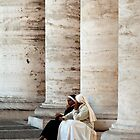Nuns Deep in Conversation by PhotoLouis