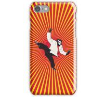 Karate Chimp iPhone Case/Skin