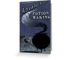 Advanced Potion Making Greeting Card
