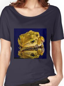 Frog yellow Women's Relaxed Fit T-Shirt