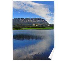 Tasmania Landscape, Sheffield, Mt Roland Poster