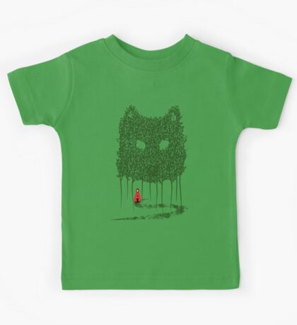 Red & The Wolf Kids Tee