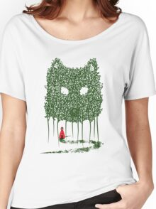 Red & The Wolf Women's Relaxed Fit T-Shirt